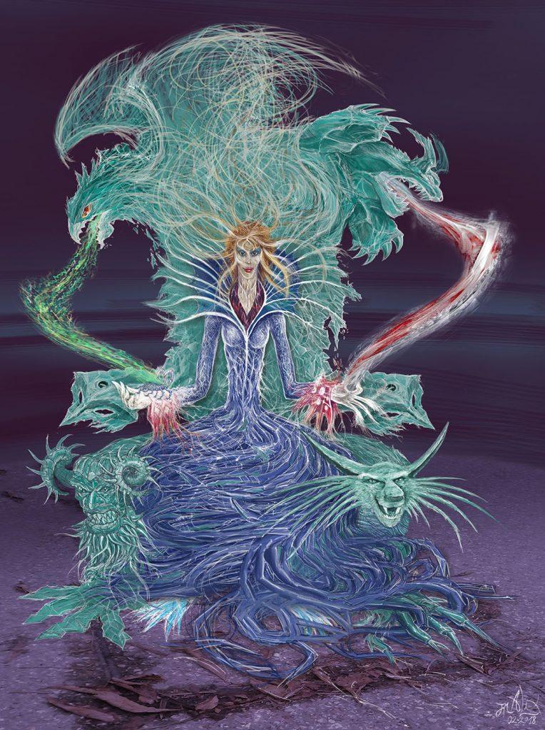 Chamane au Trône de Jade