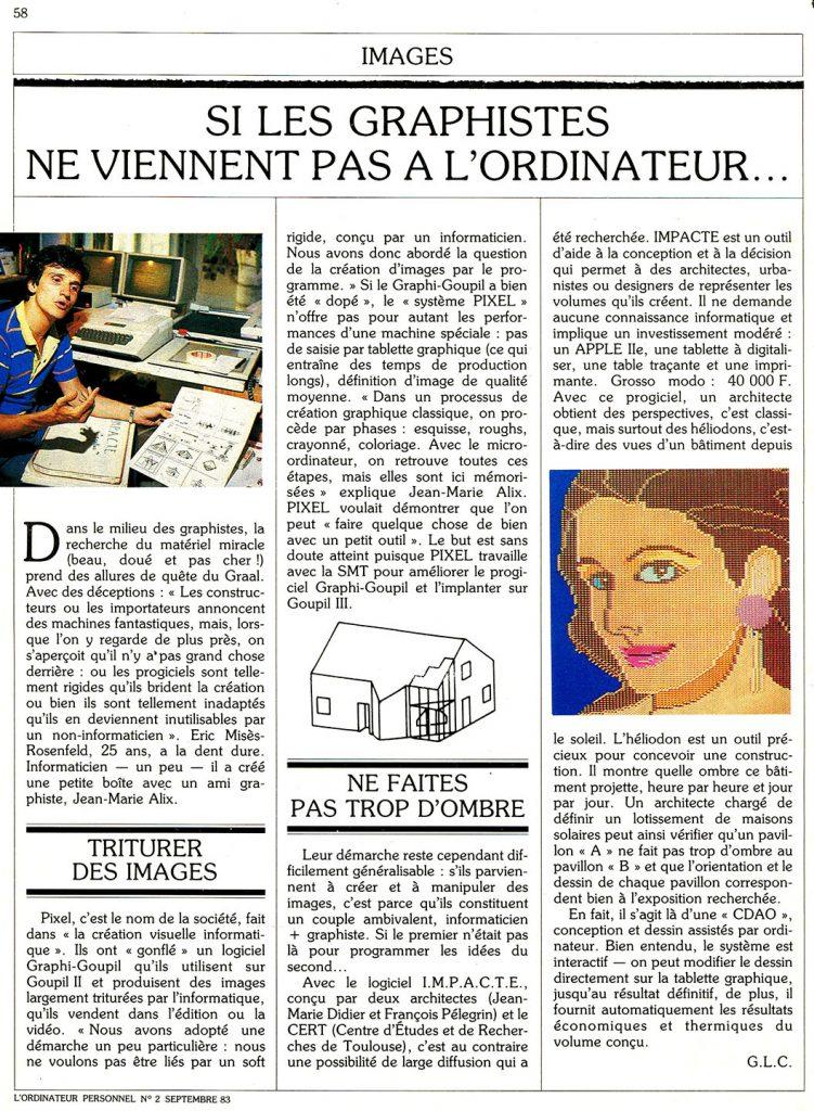 1983-L ORDINATEUR PERSONNEL NUMERO 2 - SEPTEMBRE 1983-1056x1440