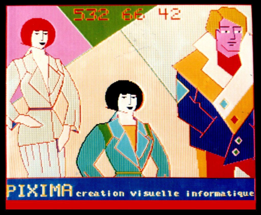 1984-GRAPHIGOUPIL-PIXIMA-PUB ECRAN